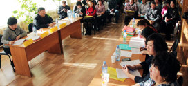 Конференция профсоюзных работников района