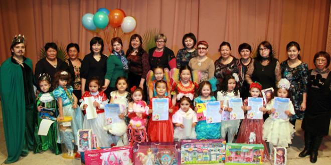 «Мисс Дюймовочка 2015». Районный конкурс от 3 до 6 лет.