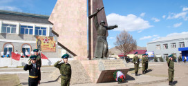 Театрализованное представление «Героям минувшей войны…», посвященное 70-летию Победы в Великой Отечественной войне.