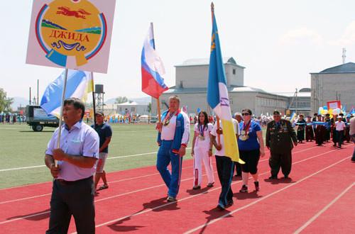 Джидинский-район-на-параде