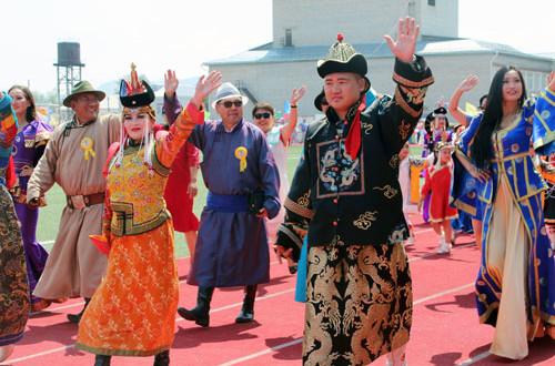 Представители-соседнего-Селенгинского-аймага-из-Монголии