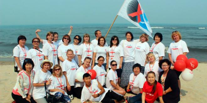 XVI слет волонтеров в ДОЛ «Энхалук»
