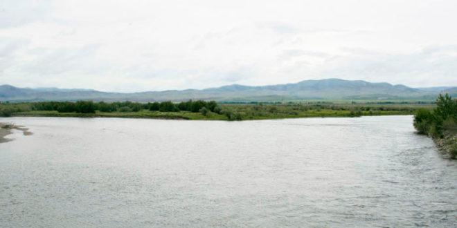 Река Джида поднялась на 110 см. (от 23.06.2016.).