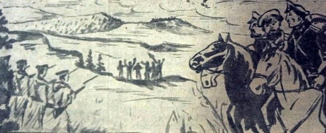 Конец чёрного дьявола. (Очерк о героях партизанах Джидинской долины).