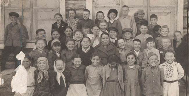 Экзамены в средней школе.  (по страницам истории Джидинского района).