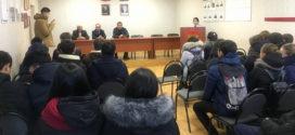 Студенты ДМТ провели экскурсию по отделу полиции.