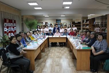 Директора библиотек республики встретились в Джиде.