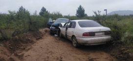 Столкновение  на автодороге «Енхор – Саган Усун».