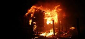 Хозяин дома погиб во время пожара.