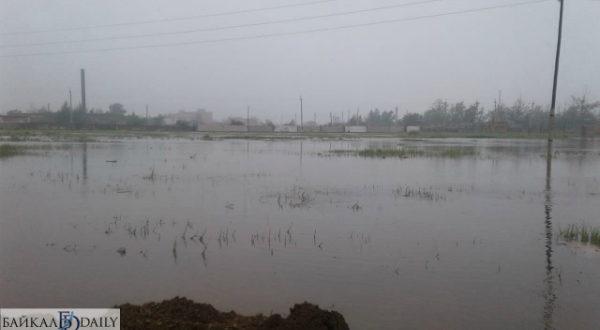 Защита от затопления станции Джида.