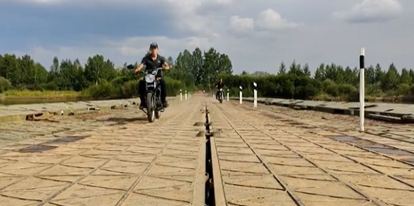 Военные снова установят понтонный мост через Джиду.